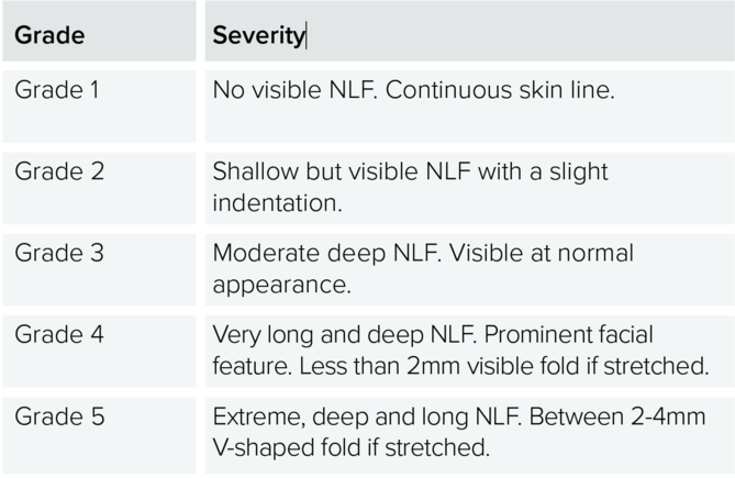 Wrinkle Severity Scales - Aesthetics